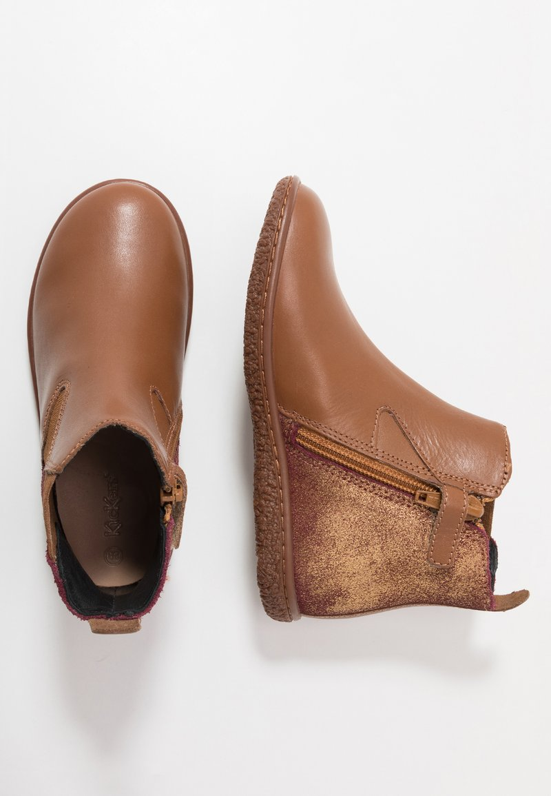 Kickers - VERMILLON - Classic ankle boots - camel