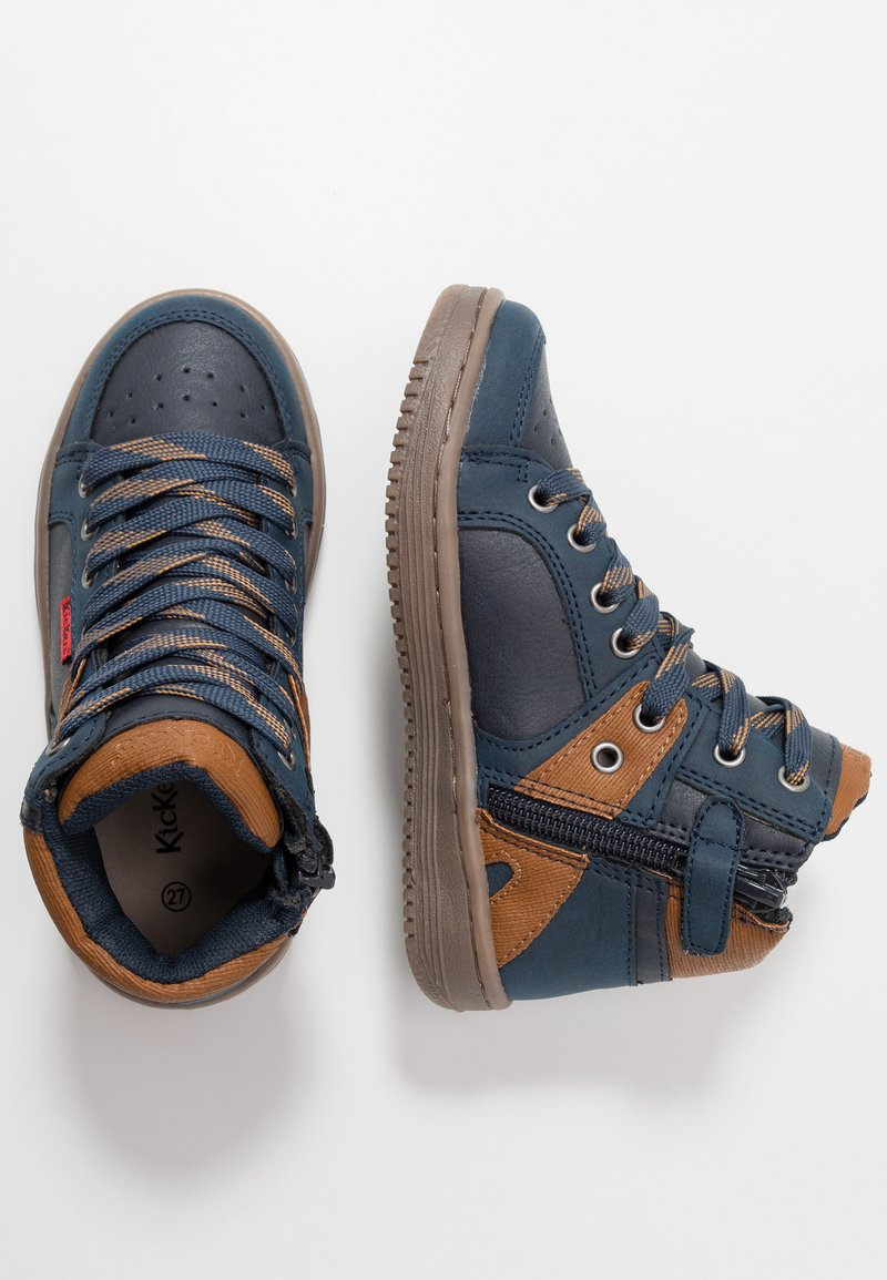 Kickers - LOWELL - High-top trainers - navy
