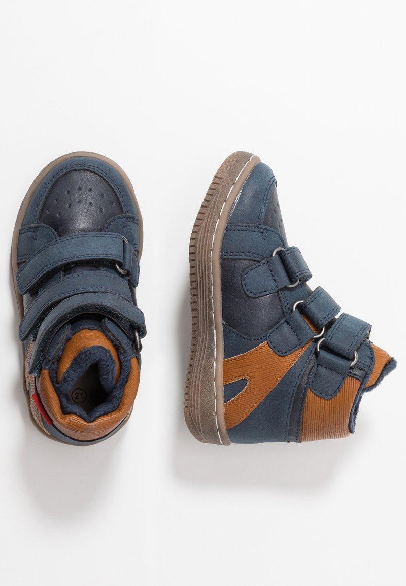 Kickers - LOHAN - Baby shoes - navy