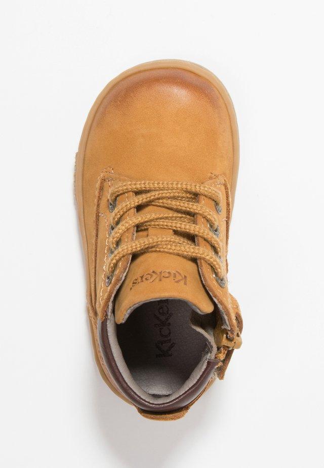 TACKLAND - Dětské boty - camel/marron