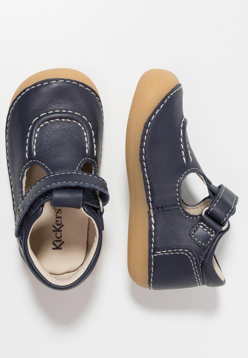Kickers - SALOME - Lära-gå-skor - dark blue