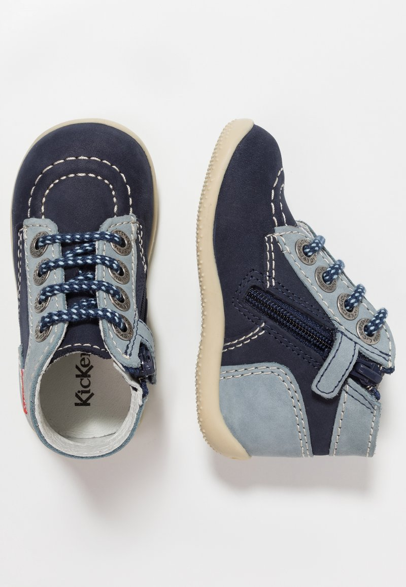 Kickers - BONZIP - Dětské boty - dark blue