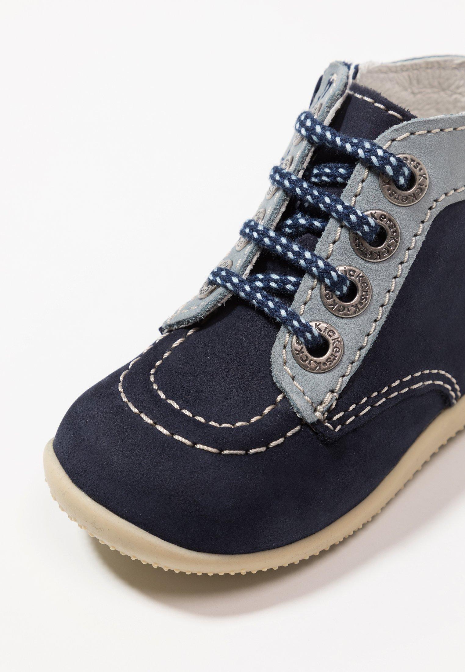 Kickers BONZIP - Obuwie do nauki chodzenia - dark blue