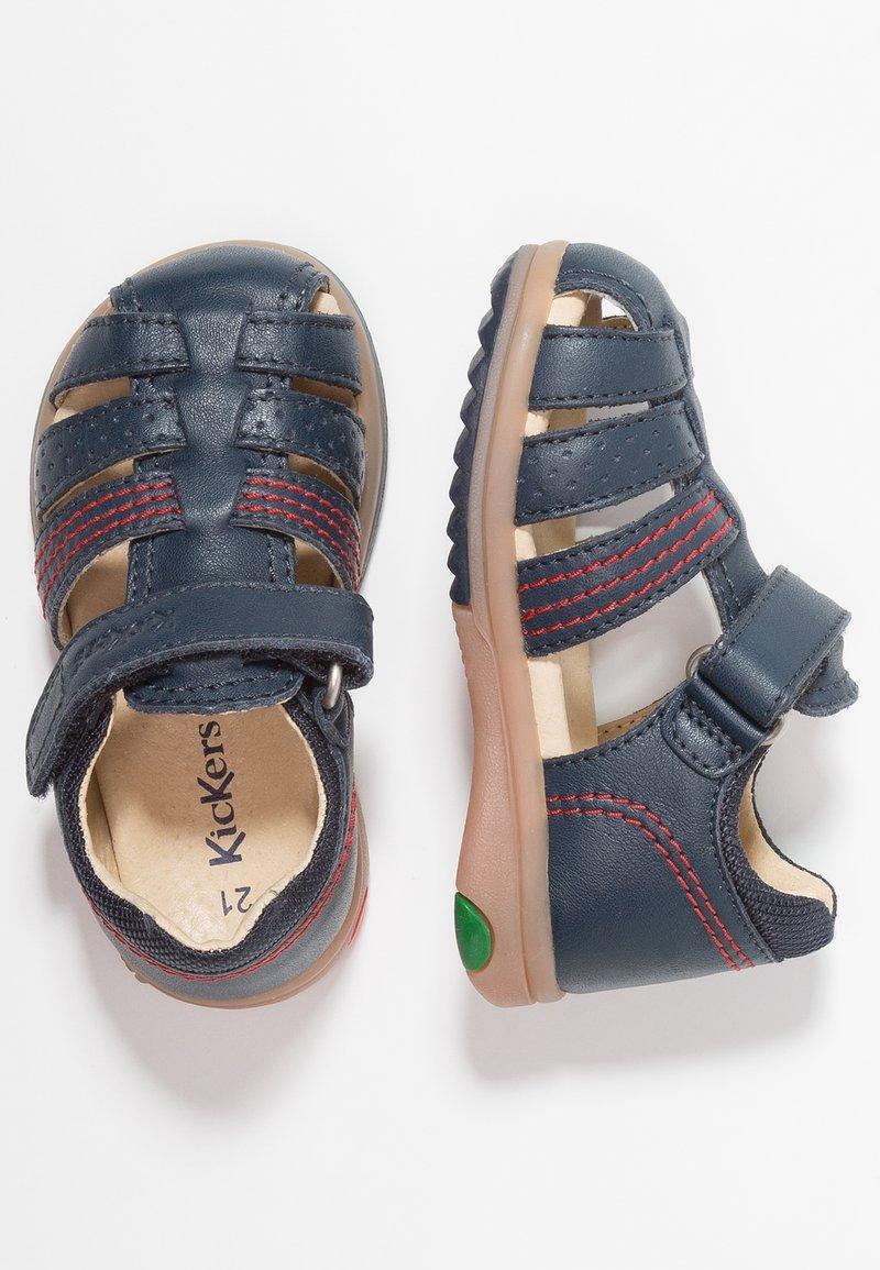 Kickers - PLATIBACK - Sandals - dark blue
