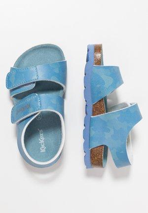 SUMMERKRO - Sandaalit nilkkaremmillä - blue