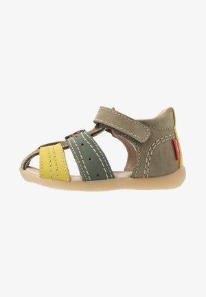 BIGBAZAR - Sandaalit nilkkaremmillä - vert tricolore