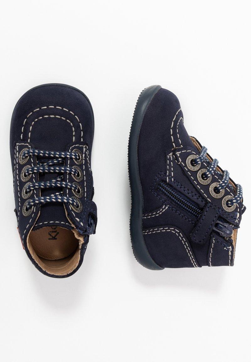 Kickers - BONZIP - Zapatos de bebé - navy