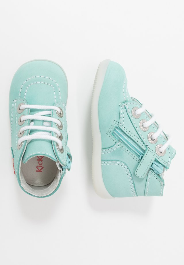 BONZIP - Dětské boty - bleu clair