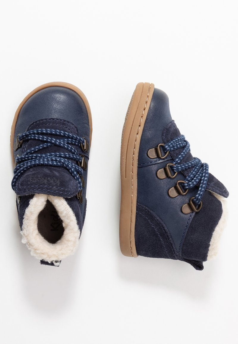 Kickers - TATTOO  - Baby shoes - navy