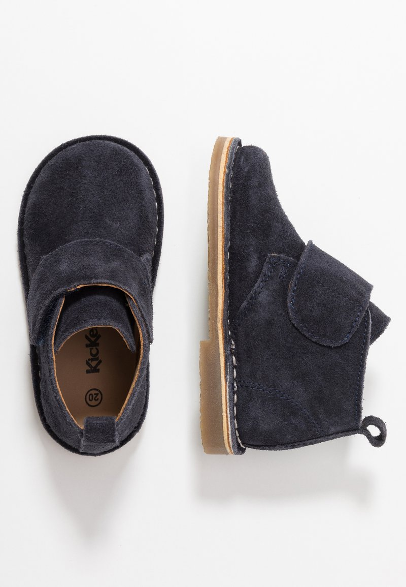 Kickers - TAKONO - Chaussures à scratch - navy
