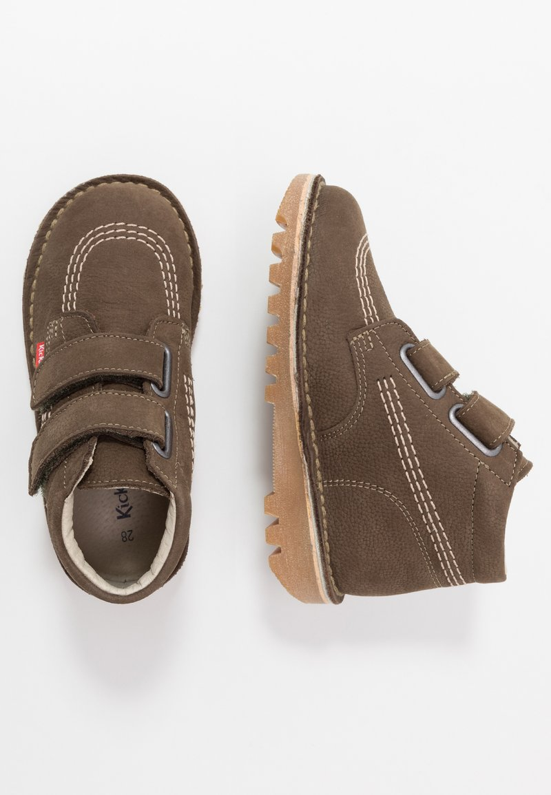 Kickers - NEOVELCRO - Classic ankle boots - dark khaki