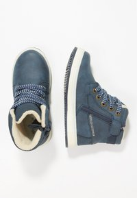 Kickers - YEPO - Bottines à lacets - navy - 1