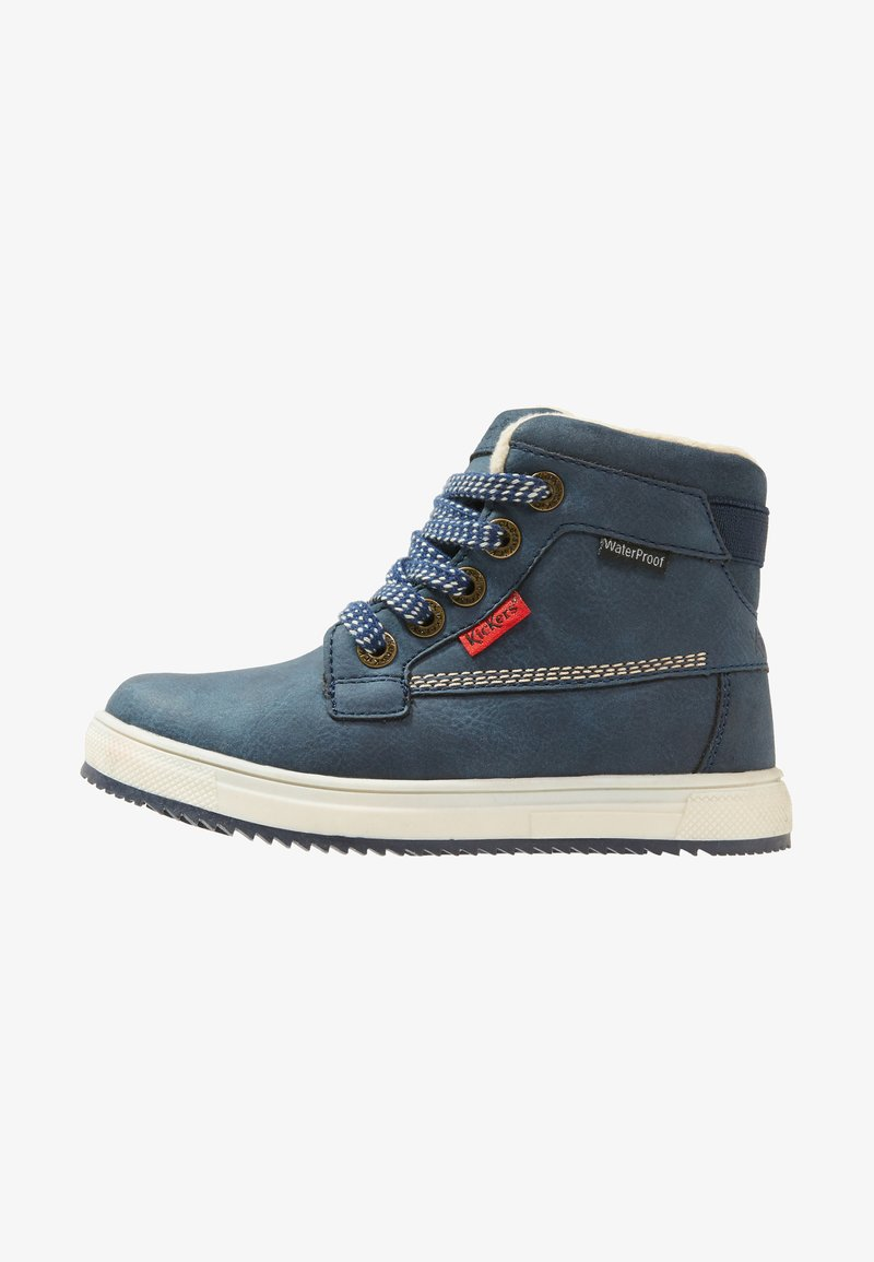 Kickers - YEPO - Lace-up ankle boots - navy