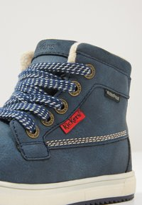 Kickers - YEPO - Bottines à lacets - navy - 5