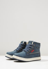 Kickers - YEPO - Bottines à lacets - navy - 2