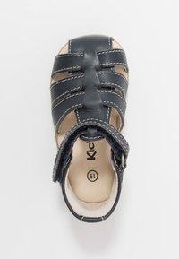 Kickers - BIGFLO - Vauvan kengät - marine fonce - 1