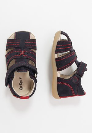 BIGBAZAR - Baby shoes - marine/rouge