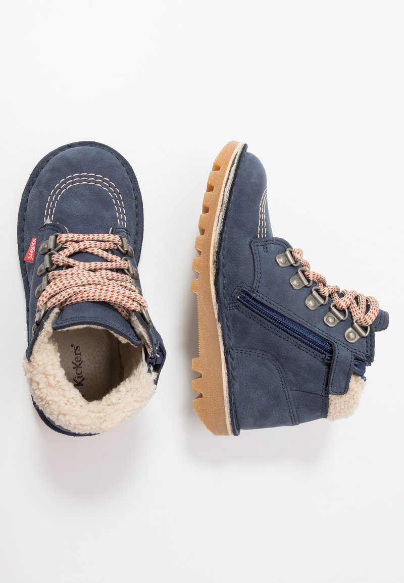 Kickers - NEOHOOK - Bottines à lacets - navy