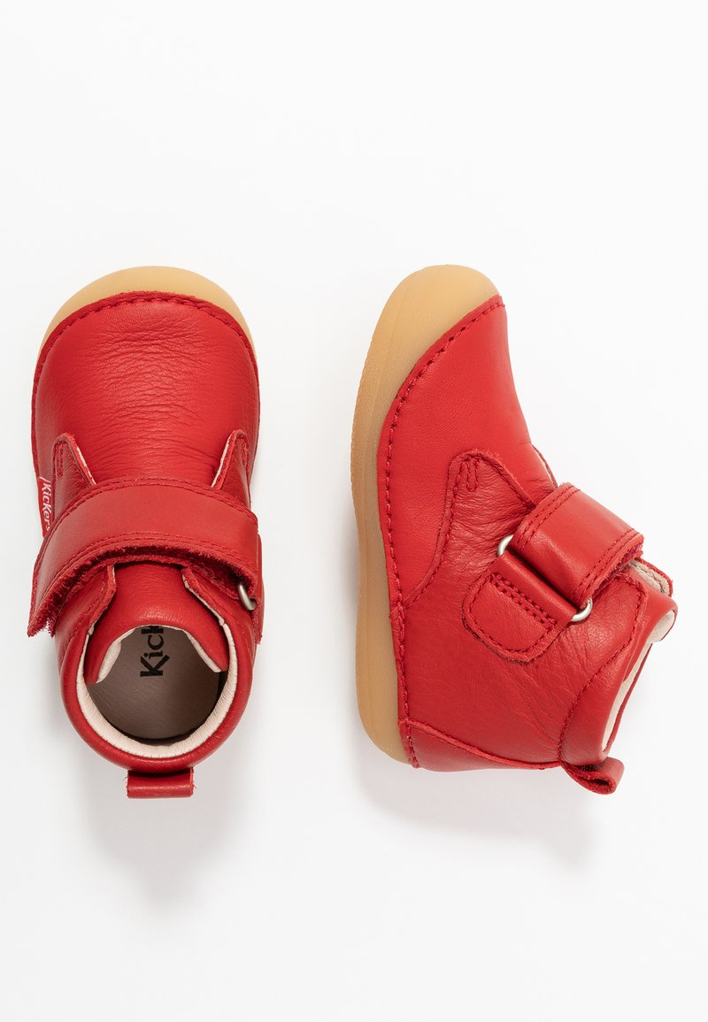 Kickers - SABIO - Baby shoes - rouge perm