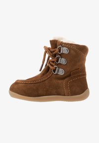 Kickers - BAMARA - Lace-up ankle boots - camel - 1