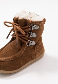 Kickers - BAMARA - Lace-up ankle boots - camel - 2