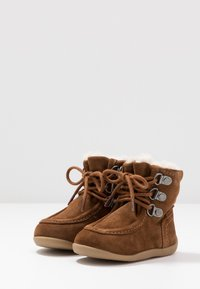 Kickers - BAMARA - Lace-up ankle boots - camel - 3