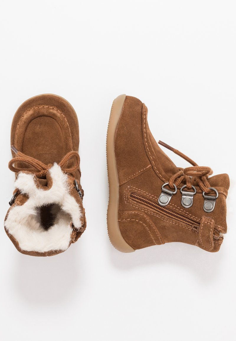 Kickers - BAMARA - Lace-up ankle boots - camel