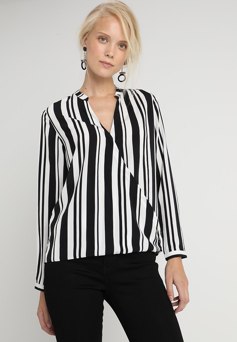 KIOMI TALL - Blouse -  off-white/black