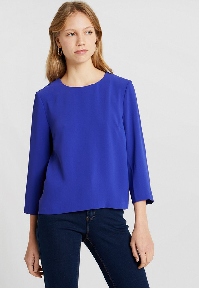Blouse - royal blue