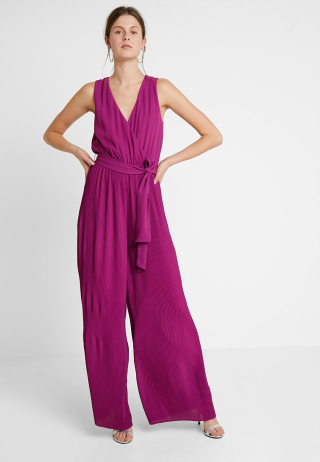 Jumpsuit - purple