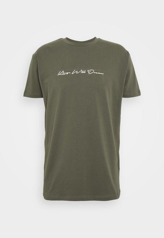 UNISEX ASHLEY TEE - T-shirt print - khaki