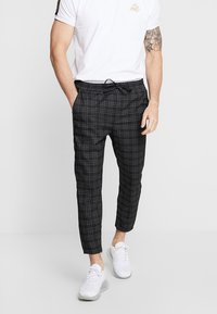 Kings Will Dream - ELGO - Pantaloni - black/white - 0