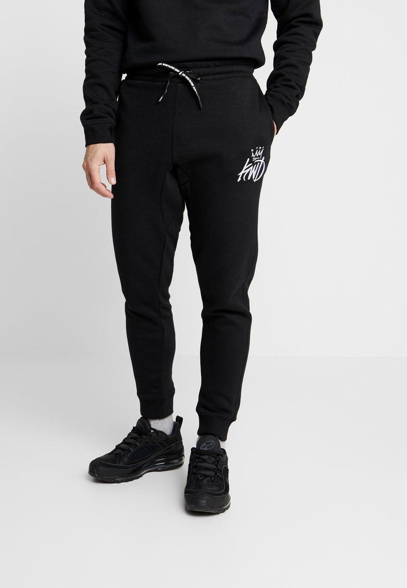 Kings Will Dream - CROSBY TRACKSUIT - Teplákové kalhoty - black