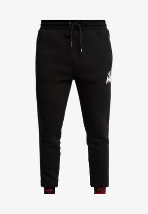 ELLERBECK  - Teplákové kalhoty - black