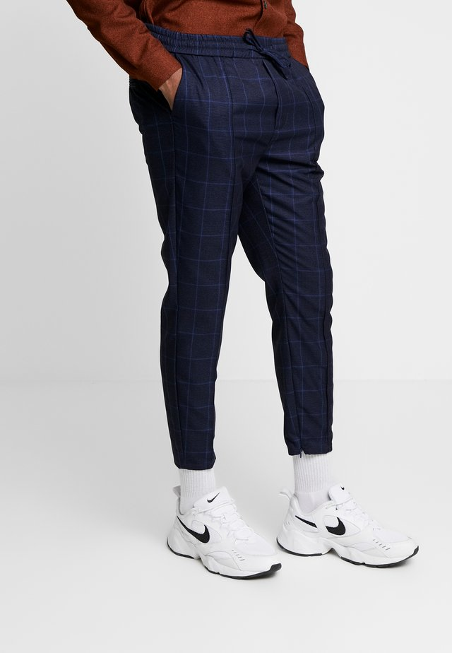 ALDEN SMART JOGGERS  - Stoffhose - navy