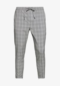 Kings Will Dream - VINCENT SMART JOGGERS IN PRINCE OF WALES - Kangashousut - charcoal - 4
