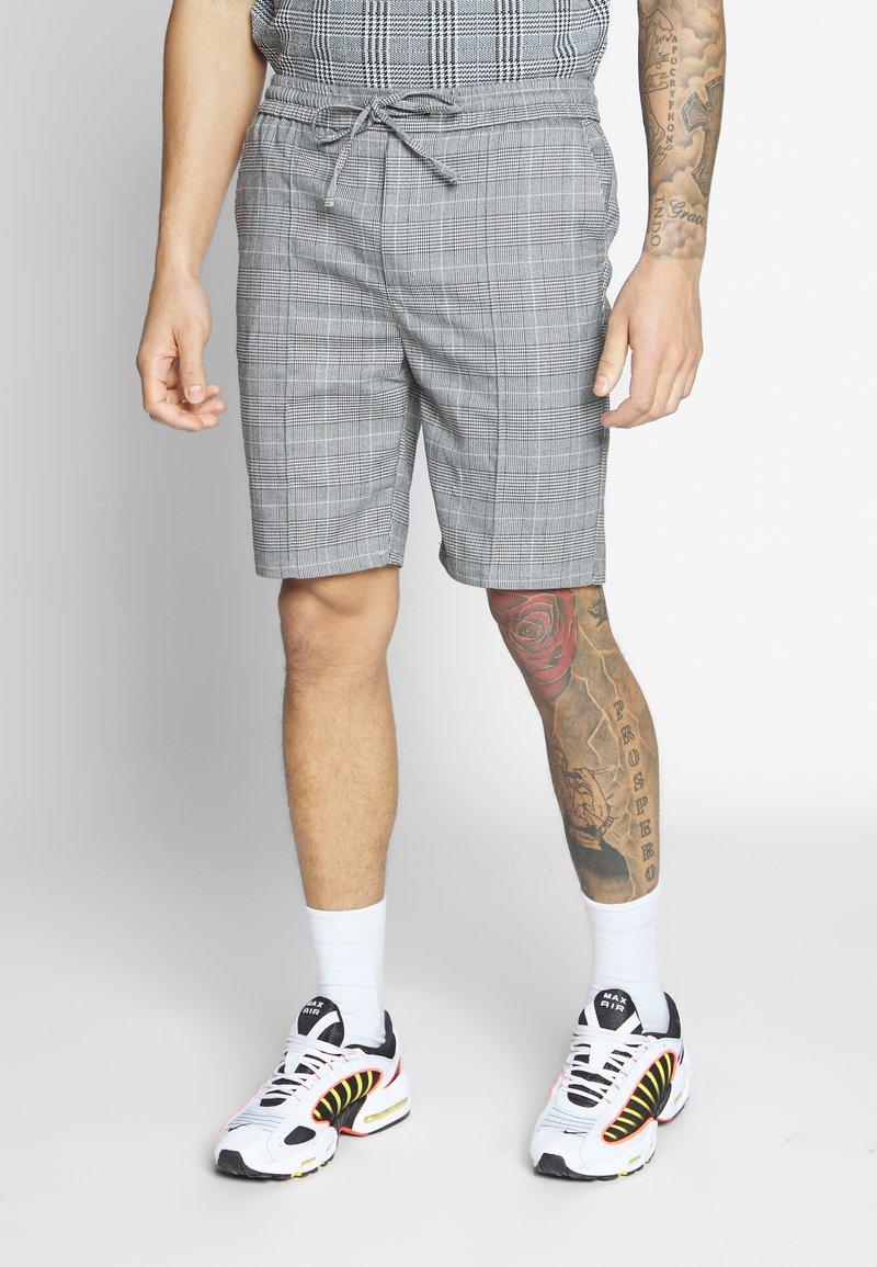 Kings Will Dream - FLICK CHECK - Shorts - grey