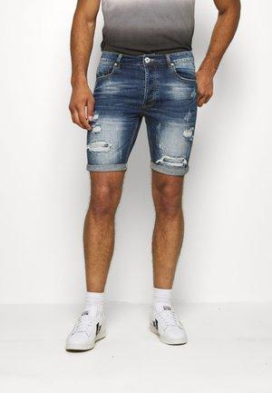 SELBOURNE CLEAN  - Szorty jeansowe - indigo