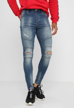 HIPSTER BANO - Jeans Skinny Fit - mid wash