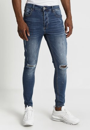 SOROLLO - Jeansy Skinny Fit - mid wash