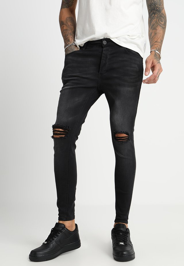 SOROLLO - Jeans Skinny Fit - black