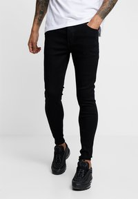Kings Will Dream - EDEN - Jeansy Skinny Fit - black wash - 0