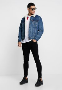 Kings Will Dream - EDEN - Jeansy Skinny Fit - black wash - 1