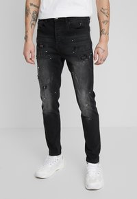 Kings Will Dream - KINGS WILL DREAM ROCKET CARROT FIT JEANS  - Jeans slim fit - black - 0
