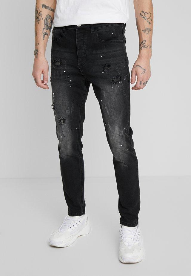 KINGS WILL DREAM ROCKET CARROT FIT JEANS  - Slim fit jeans - black