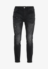 Kings Will Dream - KINGS WILL DREAM ROCKET CARROT FIT JEANS  - Jeans slim fit - black - 4