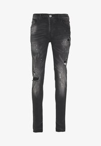 Kings Will Dream - LIMER CARROT - Slim fit jeans - grey/black - 3