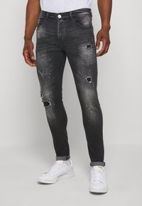 Kings Will Dream - LIMER CARROT - Slim fit jeans - grey/black - 0