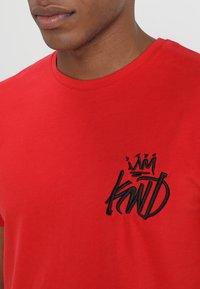 Kings Will Dream - TRAVIS - T-shirt imprimé - rose red - 4