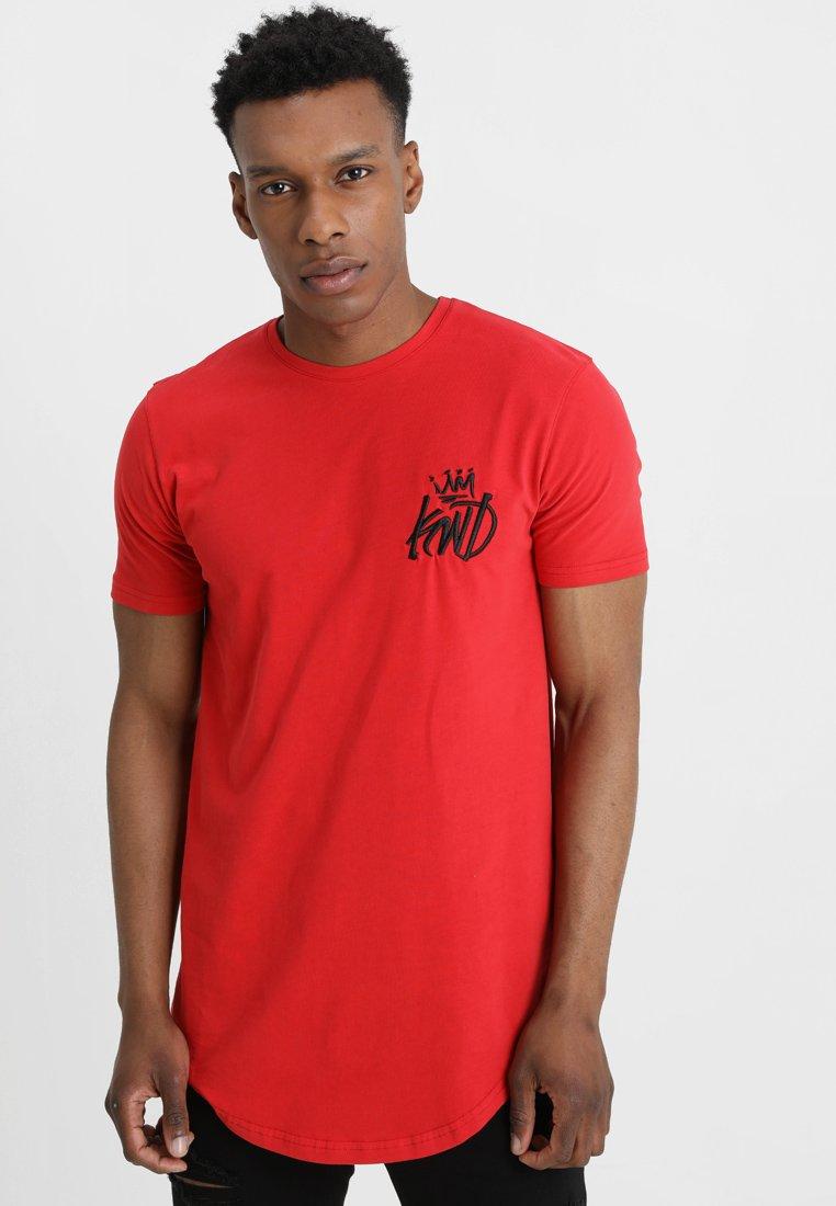 Kings Will Dream - TRAVIS - T-shirt imprimé - rose red